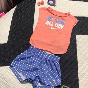 Nike baby girl set!